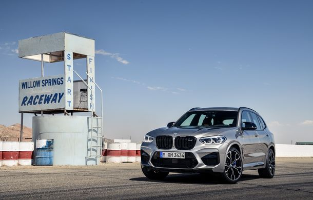 BMW prezintă noile X3 M și X4 M: 510 CP și 0-100 km/h în 4.1 secunde pentru versiunile Competition - Poza 19
