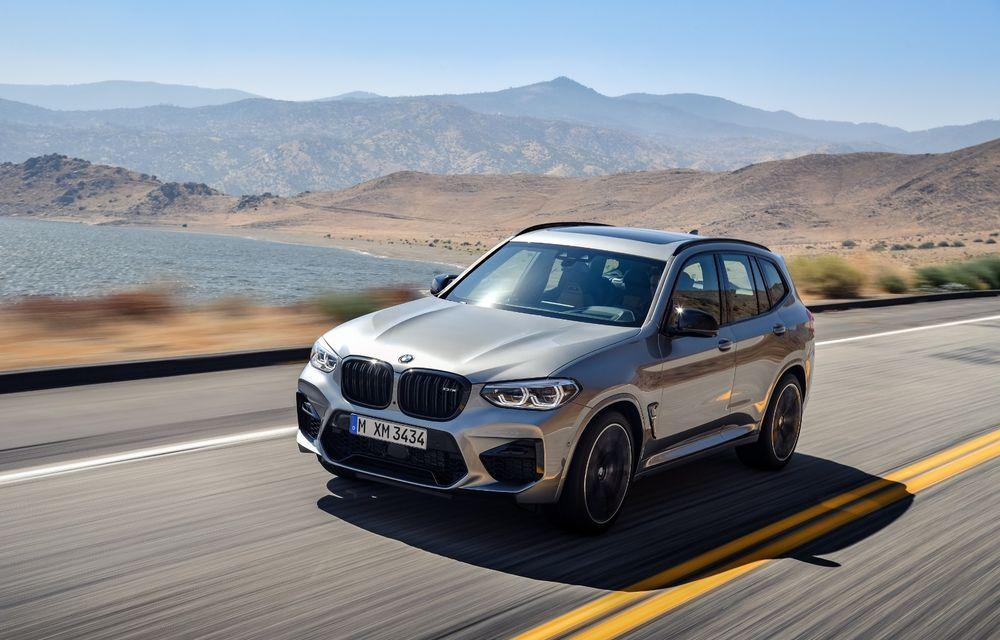 BMW prezintă noile X3 M și X4 M: 510 CP și 0-100 km/h în 4.1 secunde pentru versiunile Competition - Poza 32