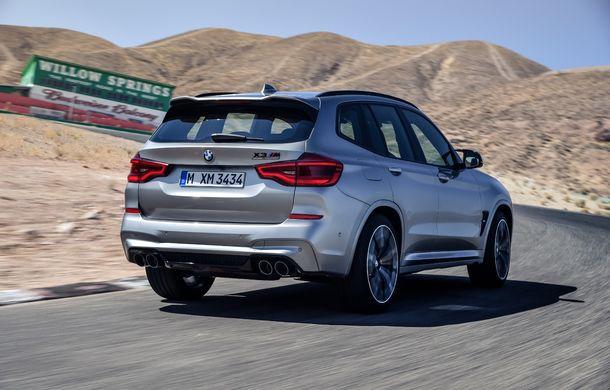 BMW prezintă noile X3 M și X4 M: 510 CP și 0-100 km/h în 4.1 secunde pentru versiunile Competition - Poza 23