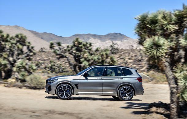 BMW prezintă noile X3 M și X4 M: 510 CP și 0-100 km/h în 4.1 secunde pentru versiunile Competition - Poza 43