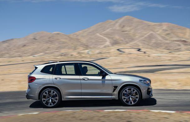 BMW prezintă noile X3 M și X4 M: 510 CP și 0-100 km/h în 4.1 secunde pentru versiunile Competition - Poza 27