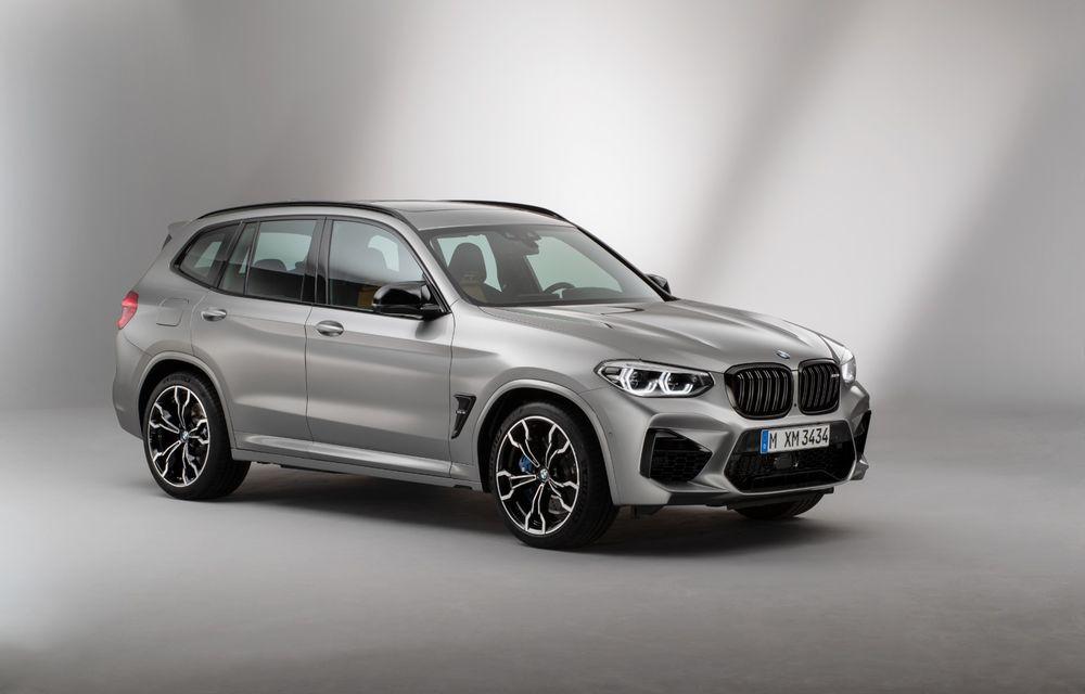 BMW prezintă noile X3 M și X4 M: 510 CP și 0-100 km/h în 4.1 secunde pentru versiunile Competition - Poza 77