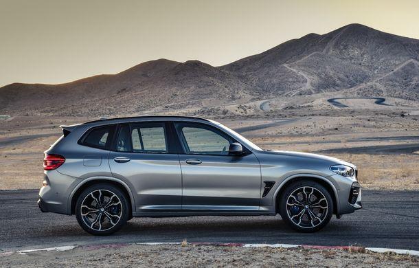 BMW prezintă noile X3 M și X4 M: 510 CP și 0-100 km/h în 4.1 secunde pentru versiunile Competition - Poza 17
