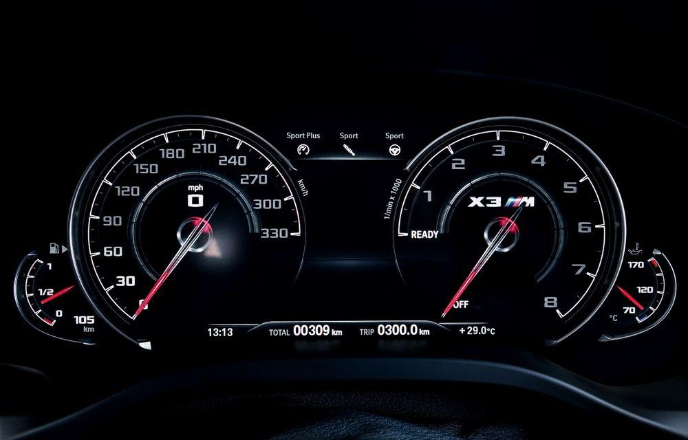BMW prezintă noile X3 M și X4 M: 510 CP și 0-100 km/h în 4.1 secunde pentru versiunile Competition - Poza 135