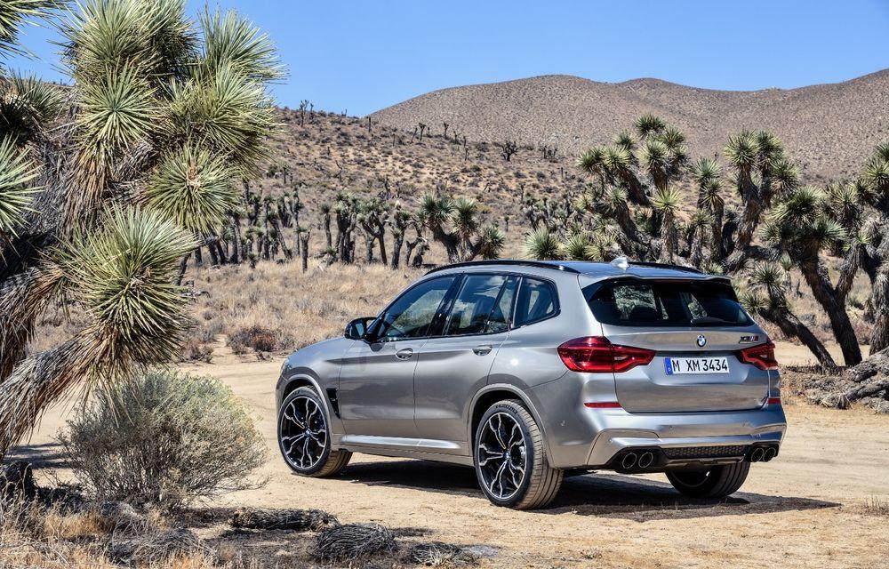 BMW prezintă noile X3 M și X4 M: 510 CP și 0-100 km/h în 4.1 secunde pentru versiunile Competition - Poza 42