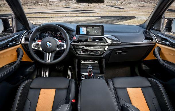 BMW prezintă noile X3 M și X4 M: 510 CP și 0-100 km/h în 4.1 secunde pentru versiunile Competition - Poza 126