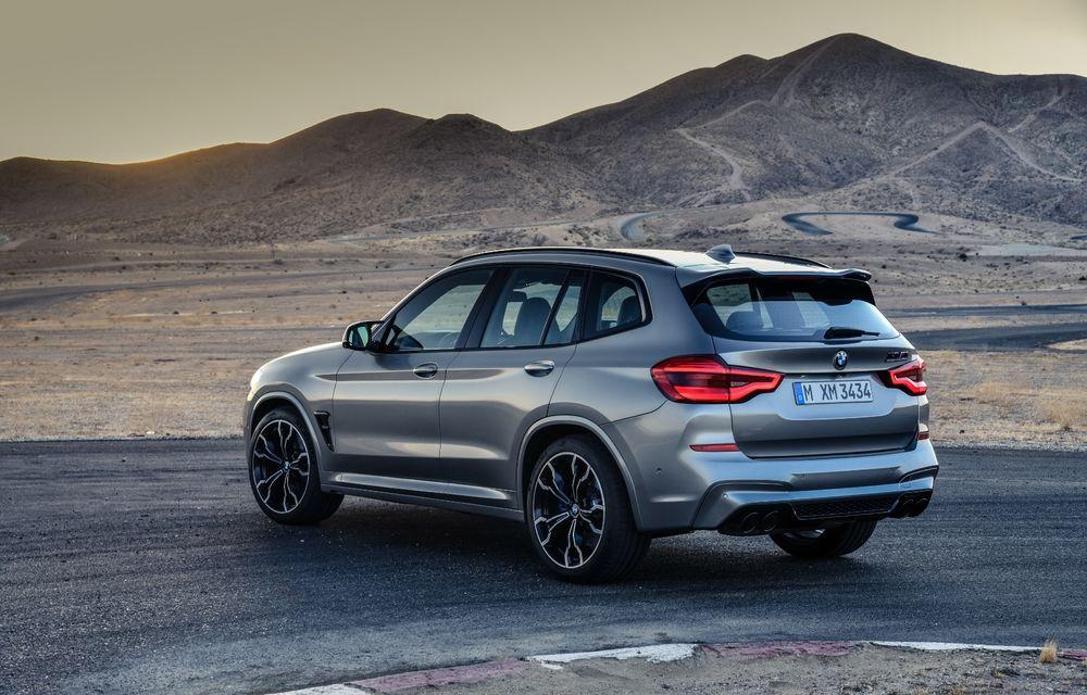 BMW prezintă noile X3 M și X4 M: 510 CP și 0-100 km/h în 4.1 secunde pentru versiunile Competition - Poza 16