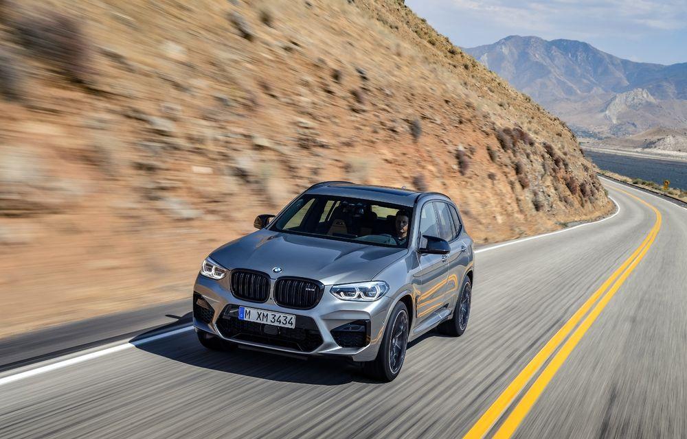 BMW prezintă noile X3 M și X4 M: 510 CP și 0-100 km/h în 4.1 secunde pentru versiunile Competition - Poza 33