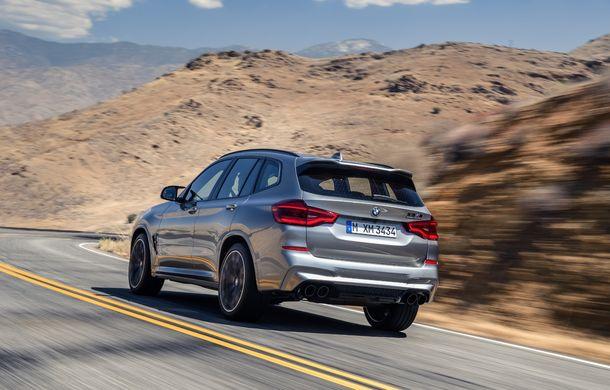 BMW prezintă noile X3 M și X4 M: 510 CP și 0-100 km/h în 4.1 secunde pentru versiunile Competition - Poza 34