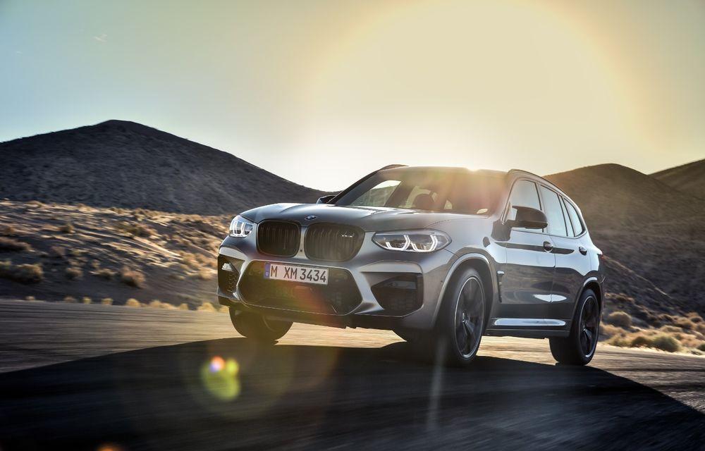 BMW prezintă noile X3 M și X4 M: 510 CP și 0-100 km/h în 4.1 secunde pentru versiunile Competition - Poza 38