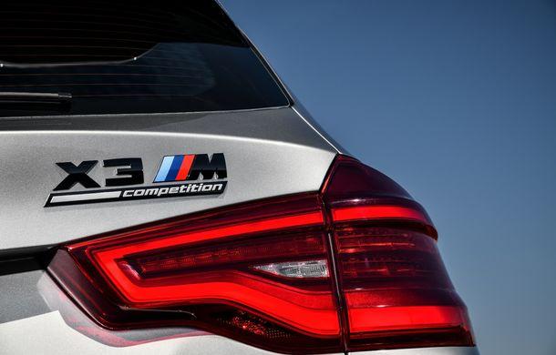 BMW prezintă noile X3 M și X4 M: 510 CP și 0-100 km/h în 4.1 secunde pentru versiunile Competition - Poza 103