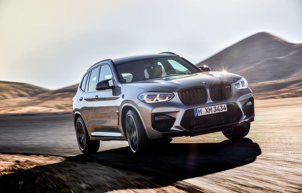 BMW prezintă noile X3 M și X4 M: 510 CP și 0-100 km/h în 4.1 secunde pentru versiunile Competition - Poza 36