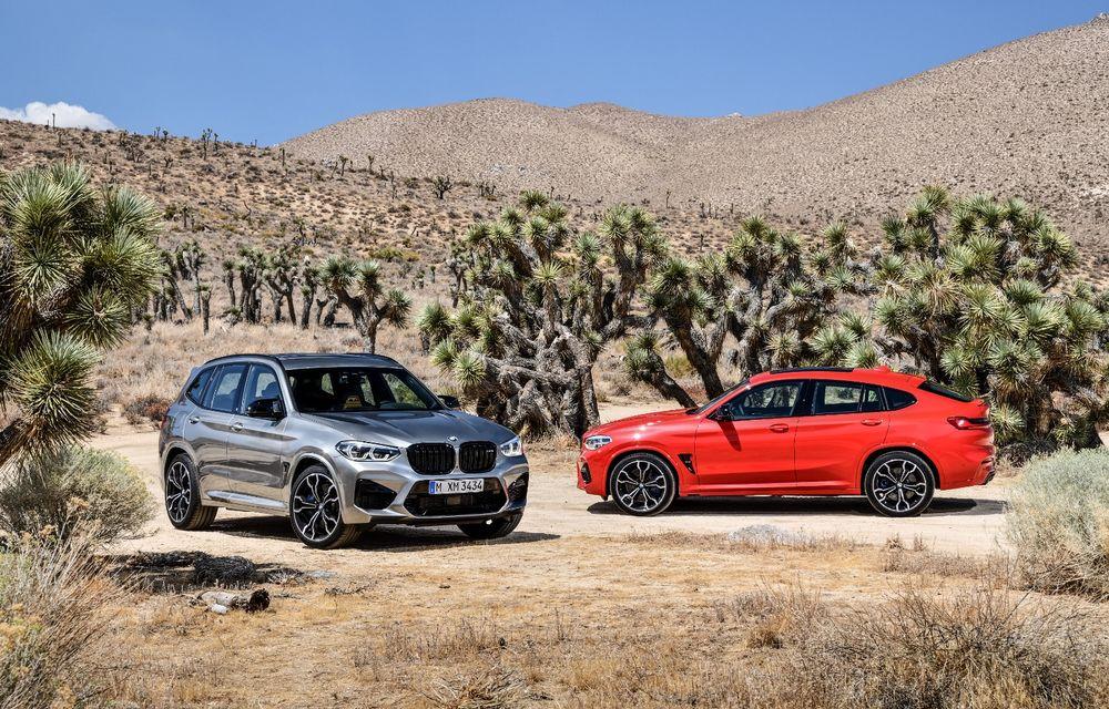 BMW prezintă noile X3 M și X4 M: 510 CP și 0-100 km/h în 4.1 secunde pentru versiunile Competition - Poza 3