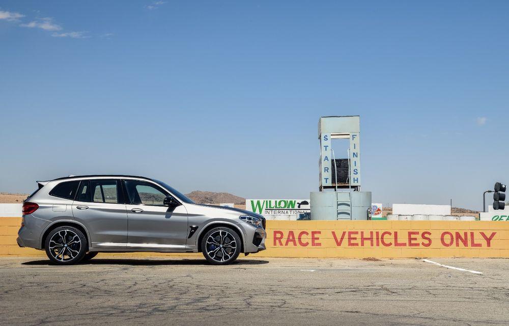 BMW prezintă noile X3 M și X4 M: 510 CP și 0-100 km/h în 4.1 secunde pentru versiunile Competition - Poza 18
