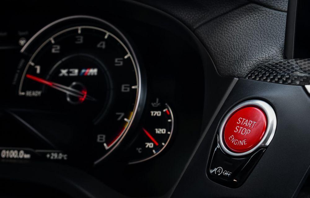 BMW prezintă noile X3 M și X4 M: 510 CP și 0-100 km/h în 4.1 secunde pentru versiunile Competition - Poza 133