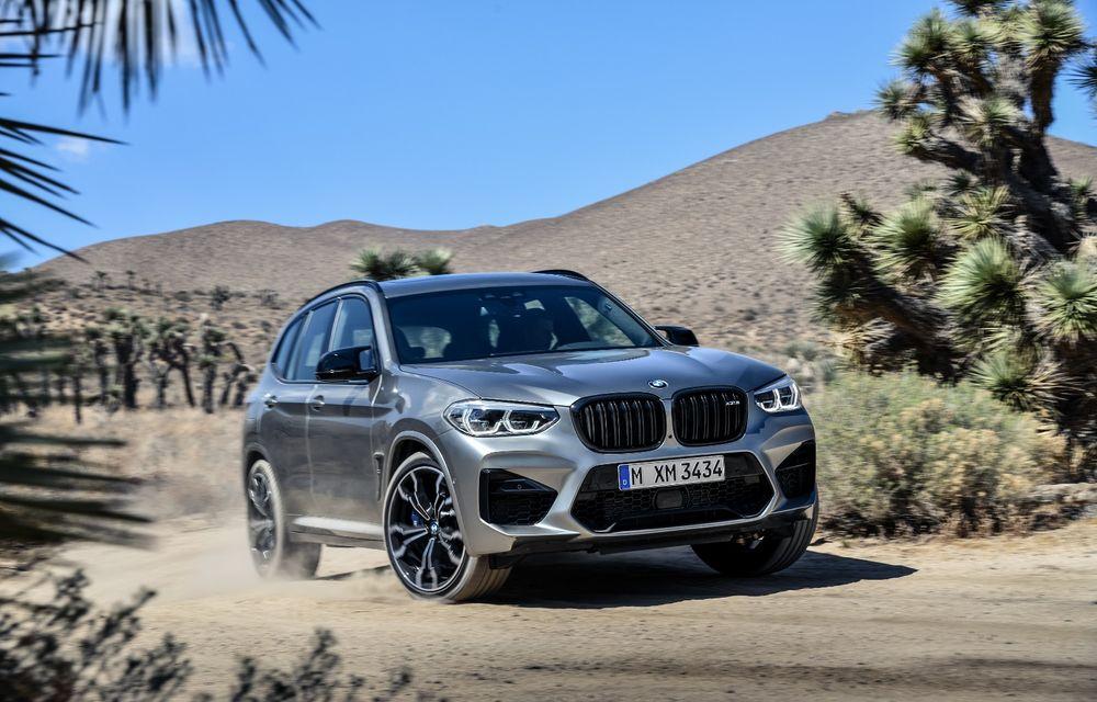 BMW prezintă noile X3 M și X4 M: 510 CP și 0-100 km/h în 4.1 secunde pentru versiunile Competition - Poza 44