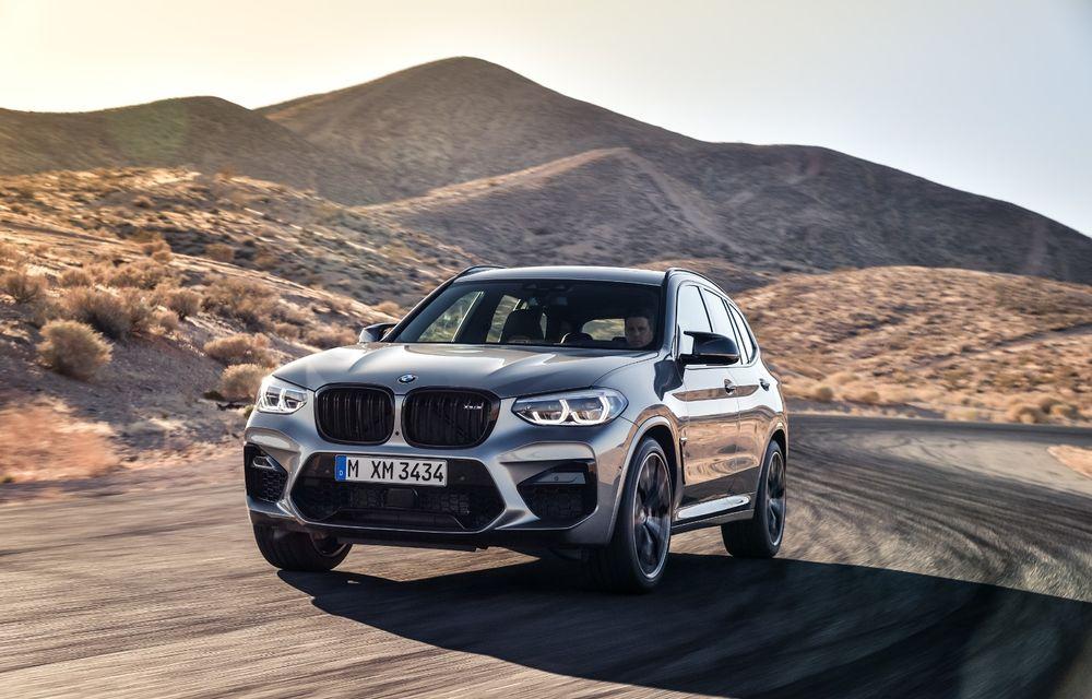 BMW prezintă noile X3 M și X4 M: 510 CP și 0-100 km/h în 4.1 secunde pentru versiunile Competition - Poza 37