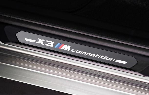 BMW prezintă noile X3 M și X4 M: 510 CP și 0-100 km/h în 4.1 secunde pentru versiunile Competition - Poza 101