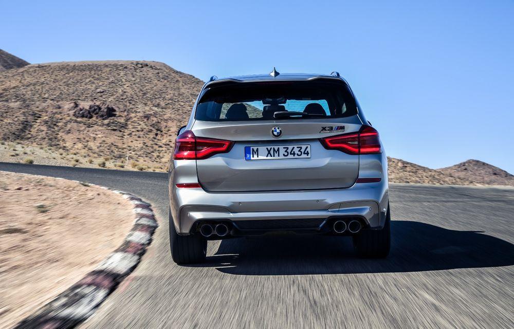 BMW prezintă noile X3 M și X4 M: 510 CP și 0-100 km/h în 4.1 secunde pentru versiunile Competition - Poza 25