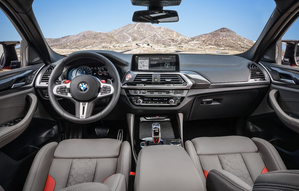 BMW prezintă noile X3 M și X4 M: 510 CP și 0-100 km/h în 4.1 secunde pentru versiunile Competition - Poza 106