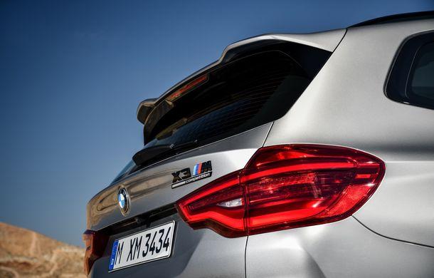 BMW prezintă noile X3 M și X4 M: 510 CP și 0-100 km/h în 4.1 secunde pentru versiunile Competition - Poza 102