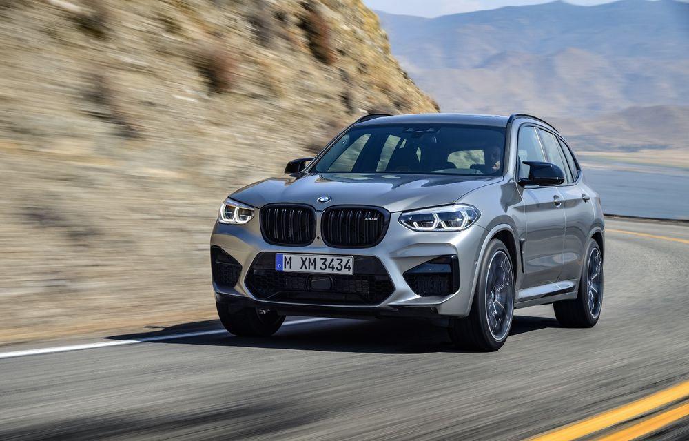 BMW prezintă noile X3 M și X4 M: 510 CP și 0-100 km/h în 4.1 secunde pentru versiunile Competition - Poza 31