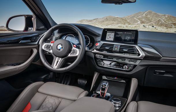 BMW prezintă noile X3 M și X4 M: 510 CP și 0-100 km/h în 4.1 secunde pentru versiunile Competition - Poza 105
