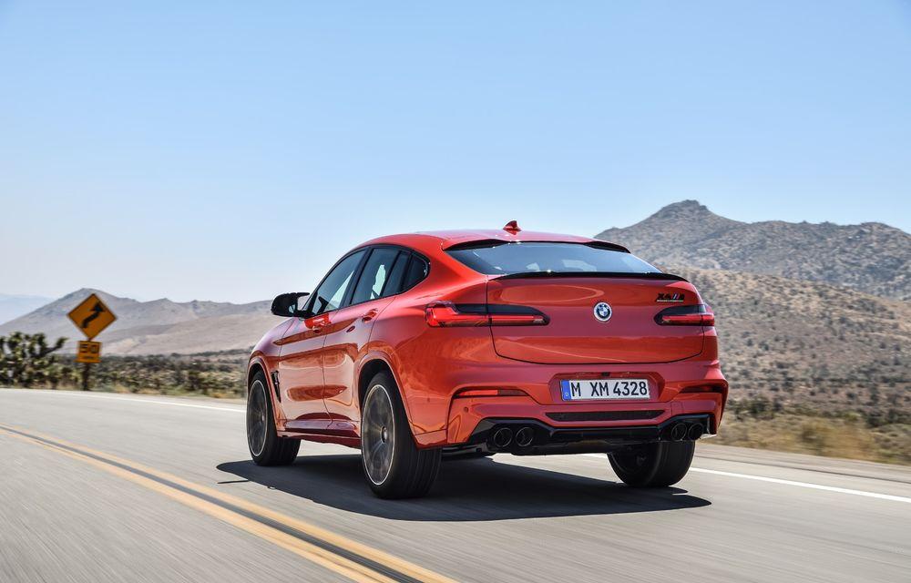 BMW prezintă noile X3 M și X4 M: 510 CP și 0-100 km/h în 4.1 secunde pentru versiunile Competition - Poza 75