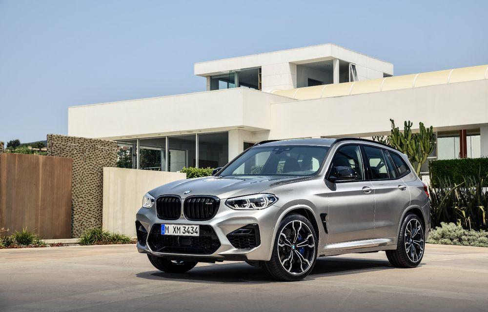 BMW prezintă noile X3 M și X4 M: 510 CP și 0-100 km/h în 4.1 secunde pentru versiunile Competition - Poza 10