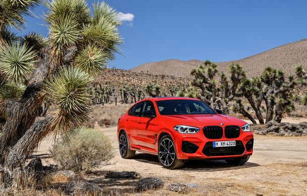 BMW prezintă noile X3 M și X4 M: 510 CP și 0-100 km/h în 4.1 secunde pentru versiunile Competition - Poza 61