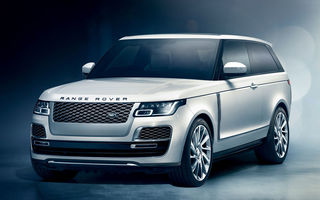 JLR renunță la noul Range Rover SV Coupe, la doar un an după lansare: producția este prea costisitoare, în contextul crizei grupului britanic