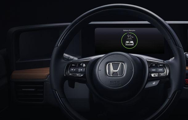 Honda a publicat prima imagine cu interiorul versiunii de pre-serie a primului său model electric: prezentarea oficială are loc în 5 martie - Poza 4