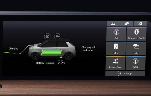 Honda a publicat prima imagine cu interiorul versiunii de pre-serie a primului său model electric: prezentarea oficială are loc în 5 martie - Poza 3