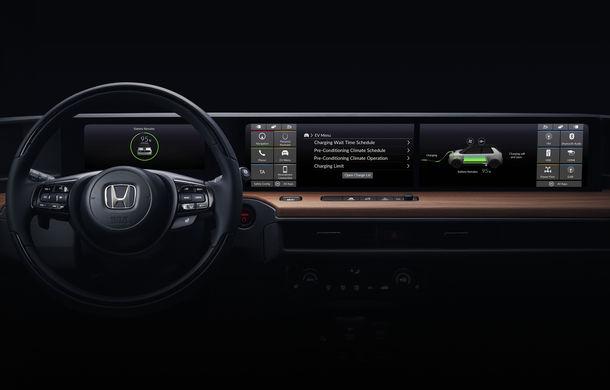 Honda a publicat prima imagine cu interiorul versiunii de pre-serie a primului său model electric: prezentarea oficială are loc în 5 martie - Poza 1