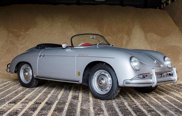 Un Porsche 356 A Speedster din 1958 va fi scos la licitație: preț estimat la peste 360.000 de euro - Poza 1