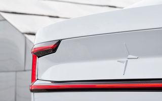 O nouă imagine teaser cu viitorul Polestar 2: modelul electric va fi expus în cadrul Salonului Auto de la Geneva