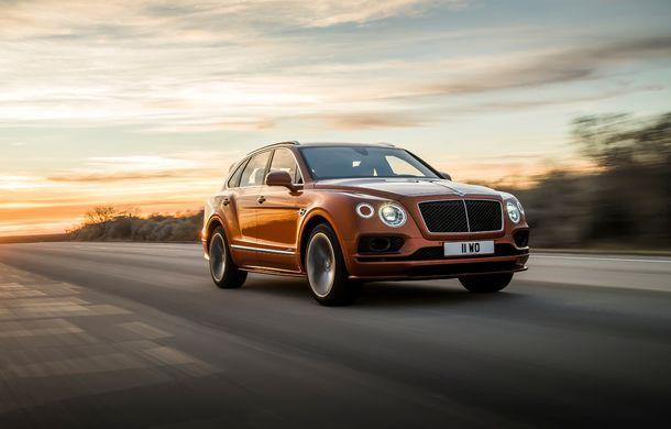 Bentley Bentayga Speed este cel mai rapid SUV de serie din lume: motor W12 de 635 CP și viteza maximă de 306 km/h - Poza 3