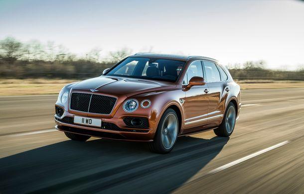 Bentley Bentayga Speed este cel mai rapid SUV de serie din lume: motor W12 de 635 CP și viteza maximă de 306 km/h - Poza 2