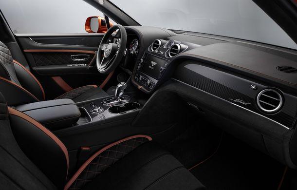 Bentley Bentayga Speed este cel mai rapid SUV de serie din lume: motor W12 de 635 CP și viteza maximă de 306 km/h - Poza 19