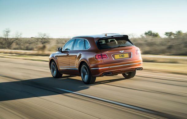 Bentley Bentayga Speed este cel mai rapid SUV de serie din lume: motor W12 de 635 CP și viteza maximă de 306 km/h - Poza 5