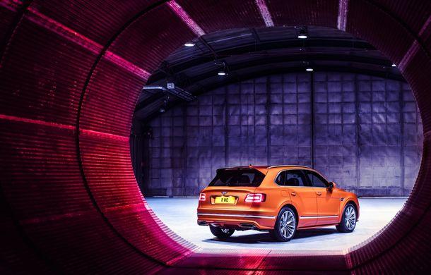 Bentley Bentayga Speed este cel mai rapid SUV de serie din lume: motor W12 de 635 CP și viteza maximă de 306 km/h - Poza 9