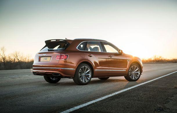 Bentley Bentayga Speed este cel mai rapid SUV de serie din lume: motor W12 de 635 CP și viteza maximă de 306 km/h - Poza 6