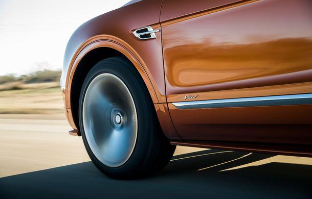 Bentley Bentayga Speed este cel mai rapid SUV de serie din lume: motor W12 de 635 CP și viteza maximă de 306 km/h - Poza 10