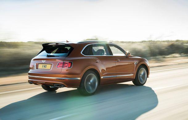 Bentley Bentayga Speed este cel mai rapid SUV de serie din lume: motor W12 de 635 CP și viteza maximă de 306 km/h - Poza 4