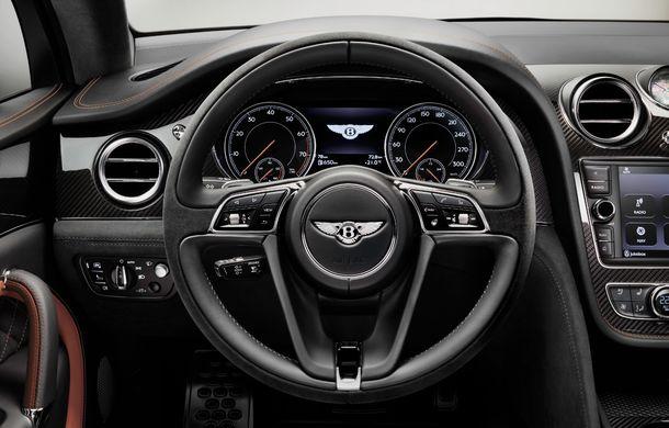 Bentley Bentayga Speed este cel mai rapid SUV de serie din lume: motor W12 de 635 CP și viteza maximă de 306 km/h - Poza 20