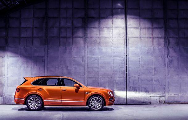 Bentley Bentayga Speed este cel mai rapid SUV de serie din lume: motor W12 de 635 CP și viteza maximă de 306 km/h - Poza 8