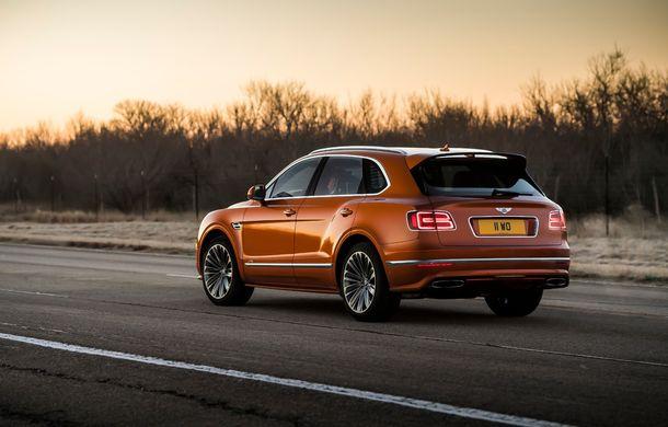 Bentley Bentayga Speed este cel mai rapid SUV de serie din lume: motor W12 de 635 CP și viteza maximă de 306 km/h - Poza 7