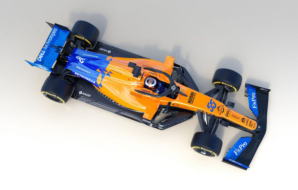 McLaren a publicat primele imagini cu noul monopost pentru sezonul 2019: britanicii mizează pe o nouă conducere tehnică - Poza 1