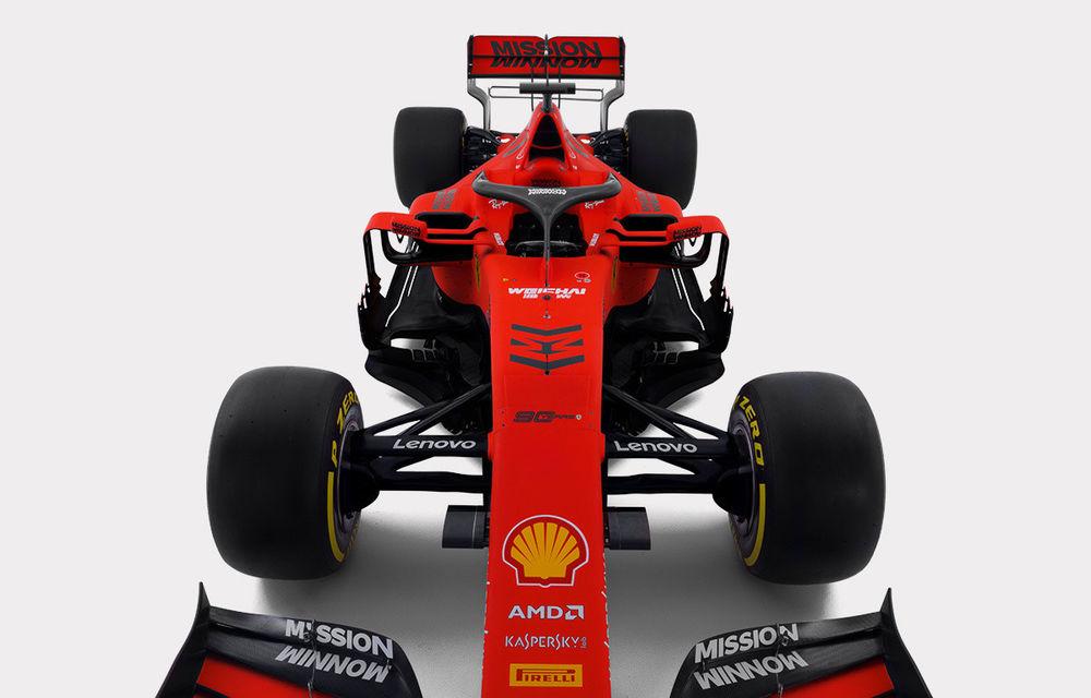 """Ferrari prezintă noul monopost pentru sezonul 2019: """"Este o evoluție a mașinii de anul trecut, nu o revoluție"""" - Poza 2"""