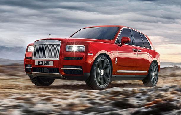 """Rolls-Royce are """"probleme"""" cu livrările SUV-ului Cullinan: """"Nu facem față comenzilor, deși fabrica funcționează la 100% din capacitate"""" - Poza 1"""